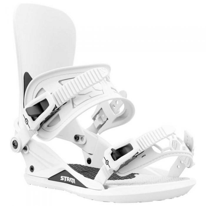[해외]UNION Strata Team Highback Snowboard Bindings 5138144885 White