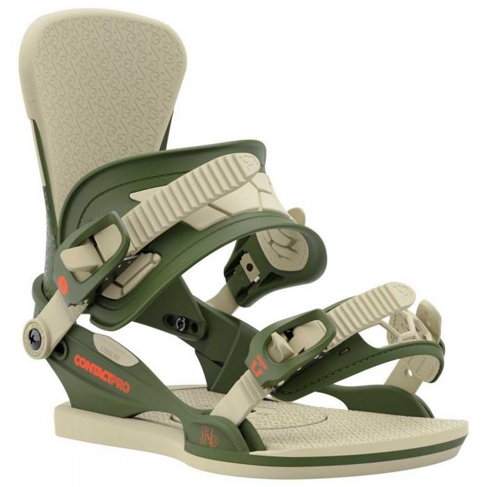 [해외]UNION Contact Pro Snowboard Bindings 5138144893 Green / Gigi Ruf