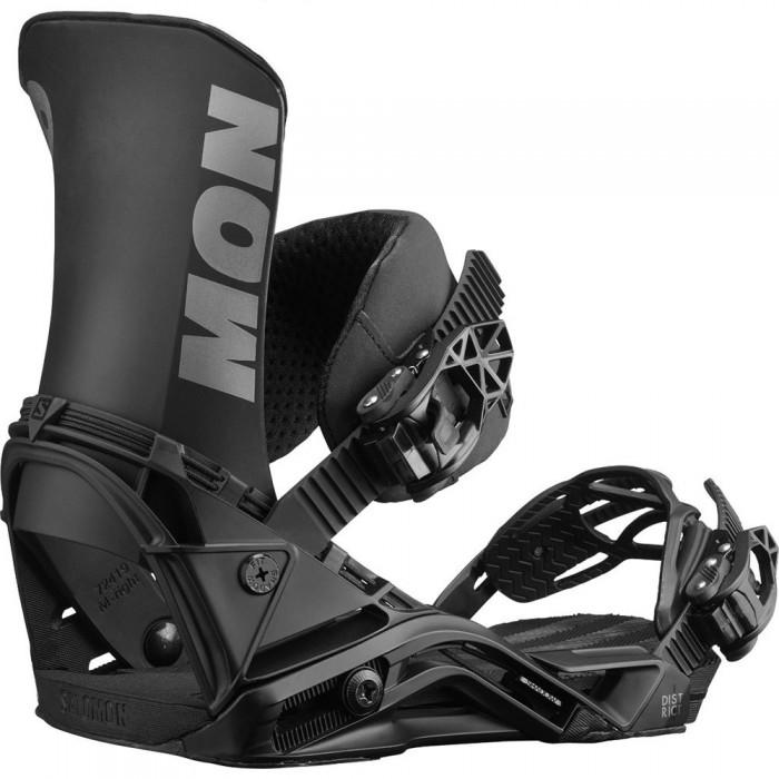 [해외]살로몬 District Snowboard Bindings 5138158055 Black