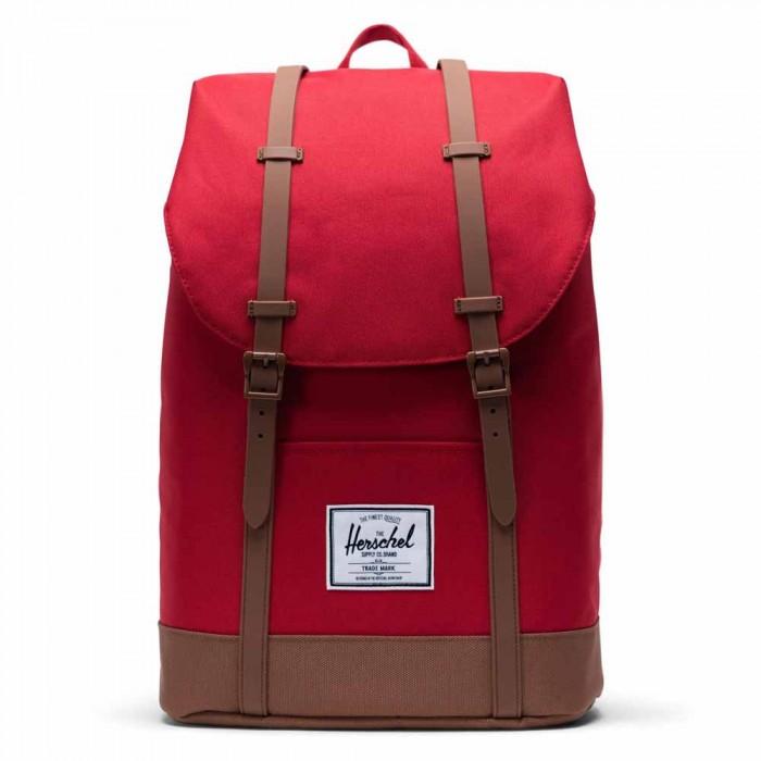 [해외]허쉘 Retreat Backpack 19.5L Red/Saddle Brown
