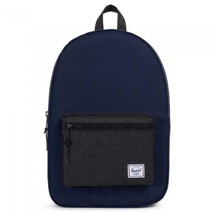 [해외]허쉘 Settlement Backpack 23L Peacoat/Black Crosshatch