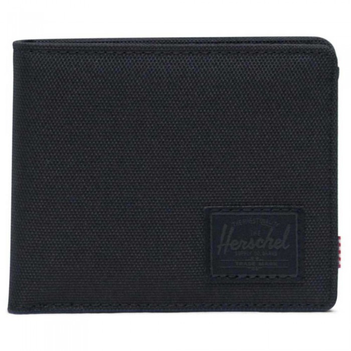 [해외]허쉘 Roy Coin RFID Wallet Black/Black