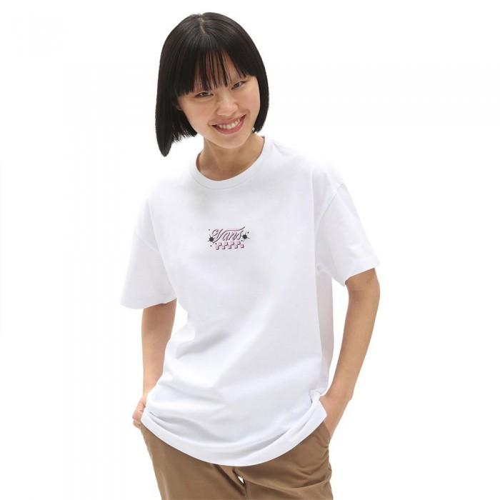 [해외]반스 BT Check Together Short Sleeve T-Shirt White
