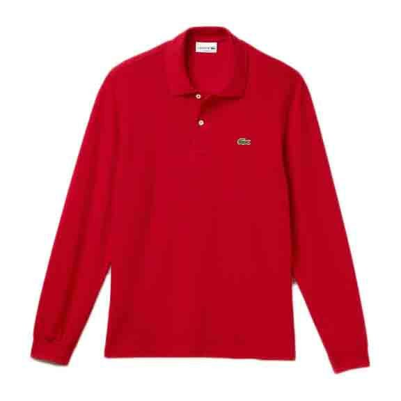 [해외]라코스테 Best Long Sleeve Polo Shirt Mallard