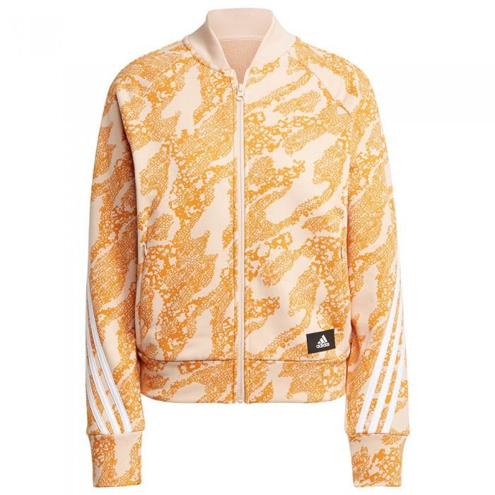 [해외]아디다스 FI GFX AN Sweatshirt 6138110486 Halo Blush / Focus Orange / White