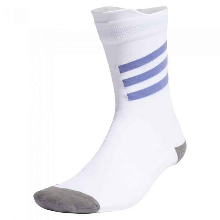 [해외]아디다스 Crew Socks 6138111572 White / Orbit Violet