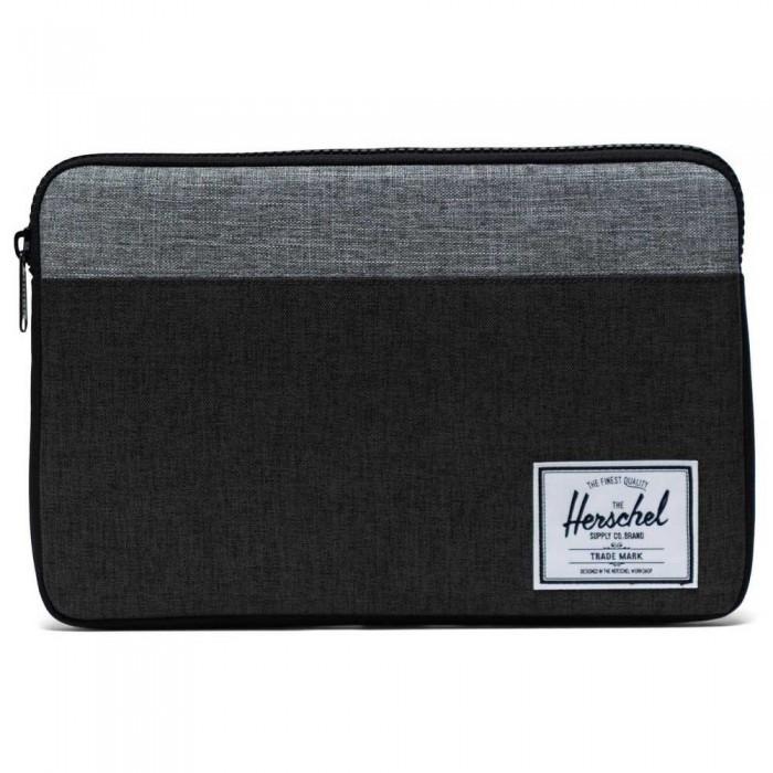 [해외]허쉘 Anchor MacBook Laptop Cover 14138339703 Black Crosshatch/Black/Raven Crosshatch