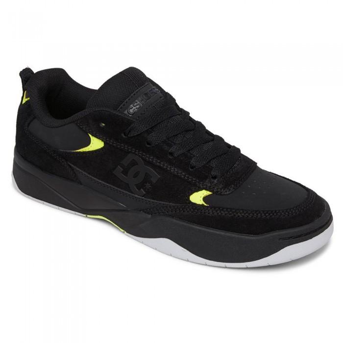 [해외]DC슈즈 Penza Trainers Refurbished 14138385706 Black / Black / Yellow