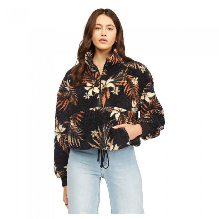[해외]빌라봉 Time Off Half Zip Sweatshirt 14138286569 Black Multi