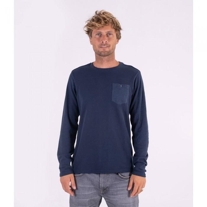 [해외]헐리 Felton Thermal Sweater 14138238530 Armory Navy