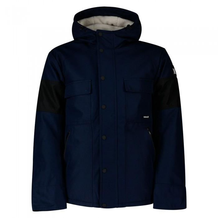 [해외]헐리 Sebastian 3M Sherpa Jacket 14138238763 Game Royal / Black