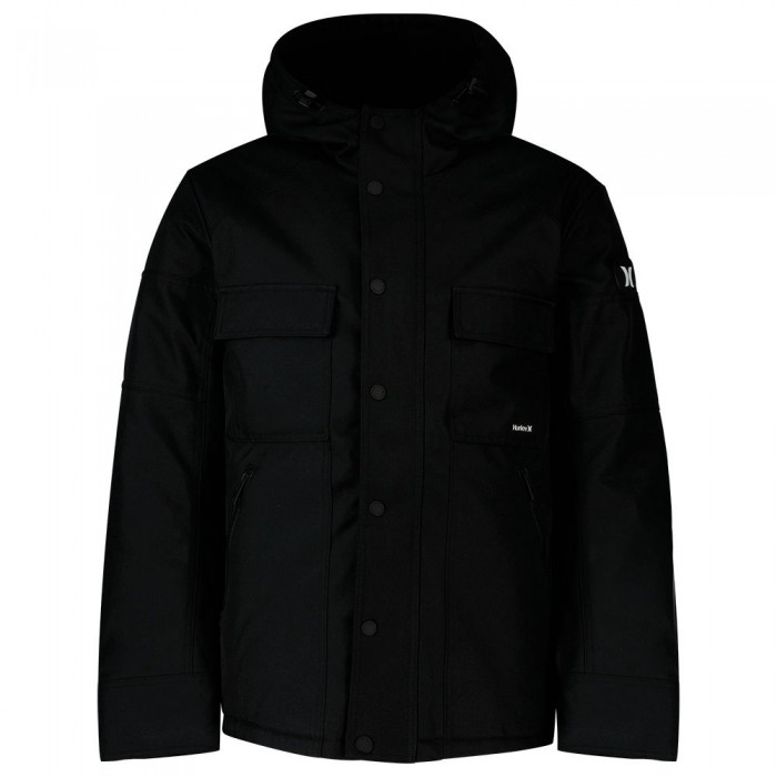 [해외]헐리 Sebastian 3M Sherpa Jacket 14138238764 Newprint Or Black / Wht