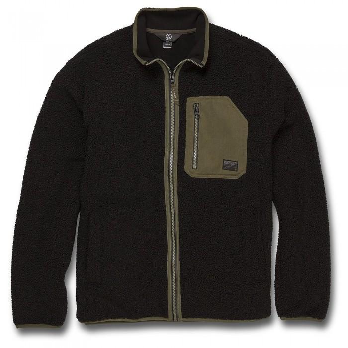 [해외]볼컴 Muzzer Fuzzar Full Zip Fleece 14138387852 New Black