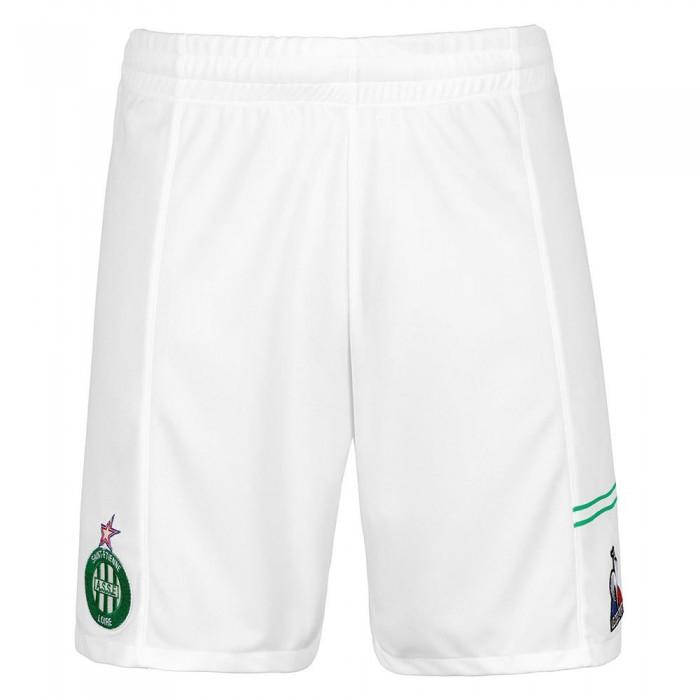 [해외]르꼬끄 AS Saint Etienne Home Shorts Junior 15138225319 New Optical White