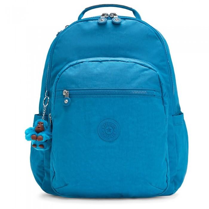 [해외]키플링 Seoul 27L Backpack 15138230611 N Aquatic Blue