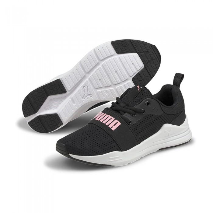 [해외]푸마 Wired Run Trainers 15138052475 Puma Black / Peony