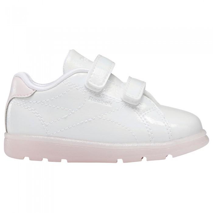 [해외]리복 Royal Complete CLN 2.0 2V Velcro Trainers Infant 15138117666 Ftwr White / Ftwr White / Porcelain Pink
