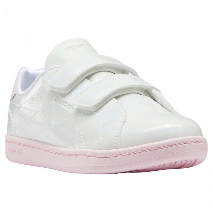 [해외]리복 Royal Complete CLN Alt 2.0 Velcro Trainers 15138117668 Ftwr White / Ftwr White / Porcelain Pink