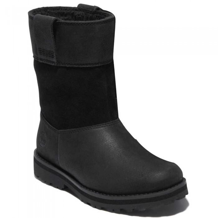 [해외]팀버랜드 Courma WL Pull On Boots Youth 15138182065 Jet Black
