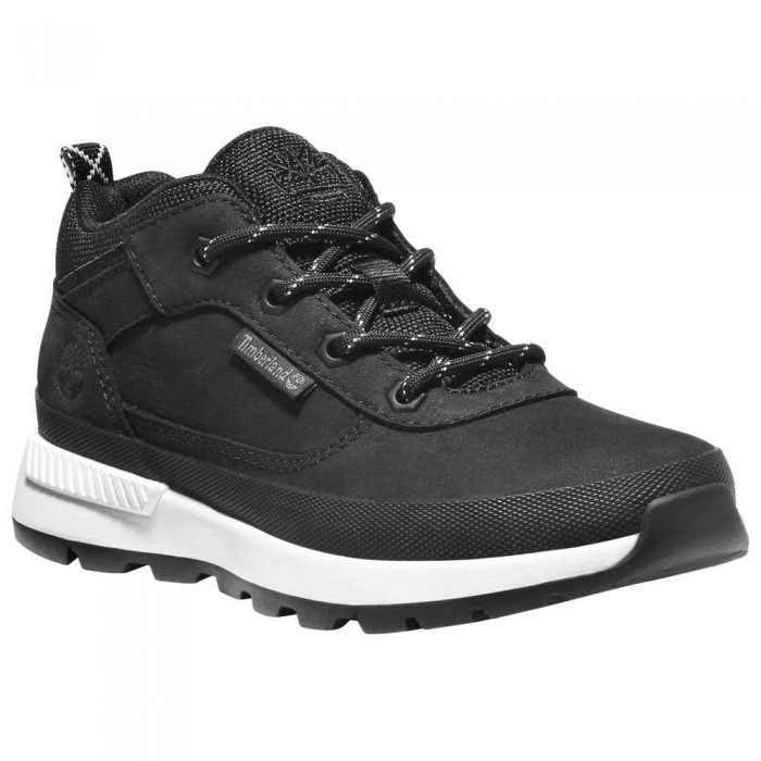 [해외]팀버랜드 Field Trekker Hiking Shoes Junior 15138182171 Jet Black