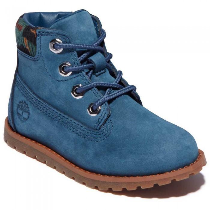 [해외]팀버랜드 Pokey Pine 6´´ Boots Toddler 15138182469 Majolica Blue