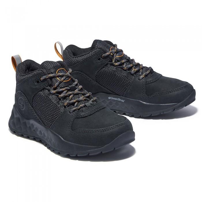 [해외]팀버랜드 Solar Wave Hiking Shoes Junior 15138182593 Jet Black