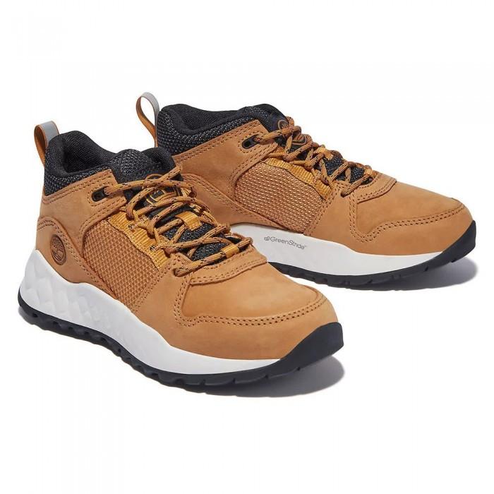 [해외]팀버랜드 Solar Wave Hiking Shoes Junior 15138182594 Wheat