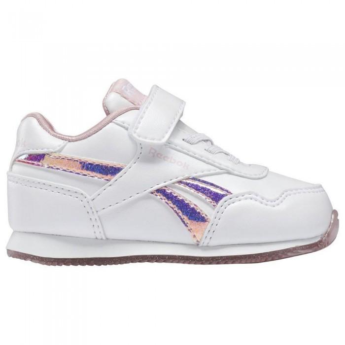 [해외]리복 Royal Classic Jogger 3 1V Velcro Trainers Refurbished 15138384492 White / White / Classic Pink