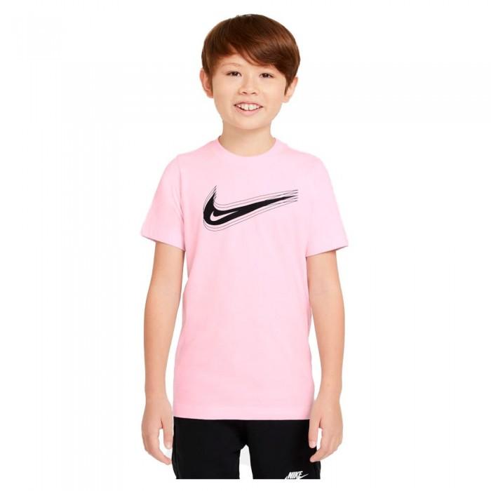 [해외]나이키 Swoosh Short Sleeve T-Shirt 15137983108 Pink Foam