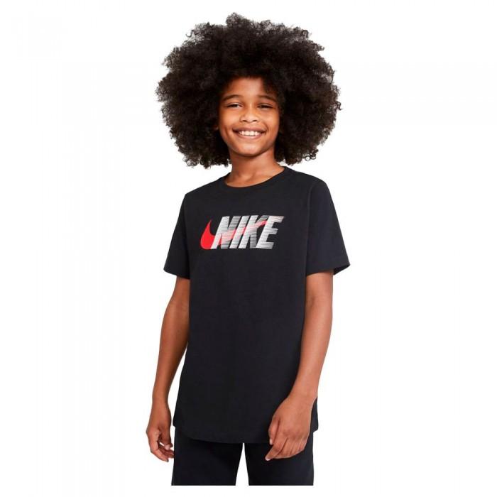 [해외]나이키 Swoosh Short Sleeve T-Shirt 15137983532 Black / University Red