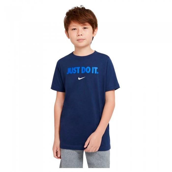 [해외]나이키 Sportswear Short Sleeve T-Shirt 15137983925 Midnight Navy / Game Royal