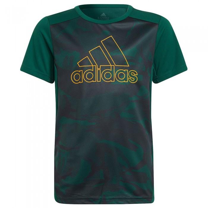 [해외]아디다스 Seas Short Sleeve T-Shirt 15138108323 Collegiate Green / Night Grey