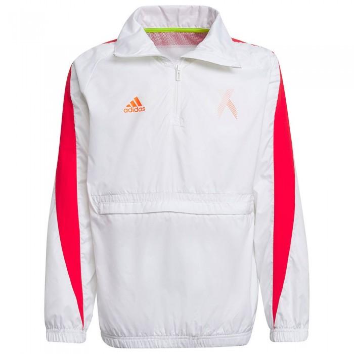 [해외]아디다스 AR X Full Zip Sweatshirt 15138108627 White / Red