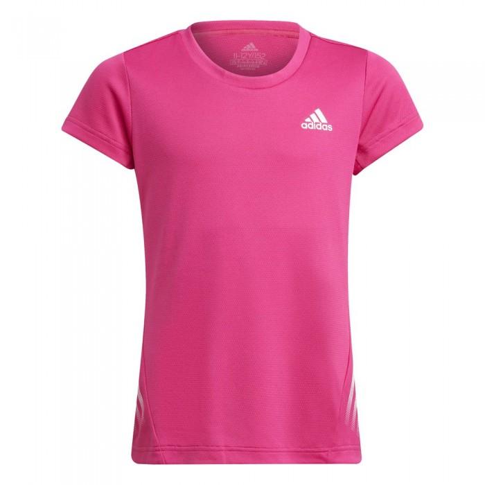 [해외]아디다스 A.R. 3 Striker Short Sleeve T-Shirt 15138109579 Team Real Magenta / White