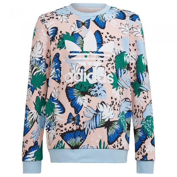 [해외]아디다스 ORIGINALS Crew Sweatshirt 15138115236 Haze Coral / Multicolor
