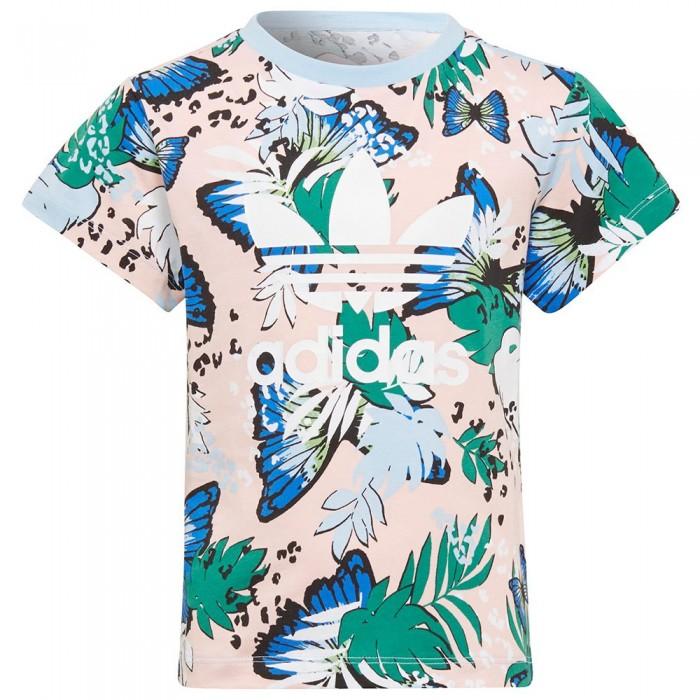 [해외]아디다스 ORIGINALS Short Sleeve T-Shirt 15138115237 Haze Coral / Multicolor