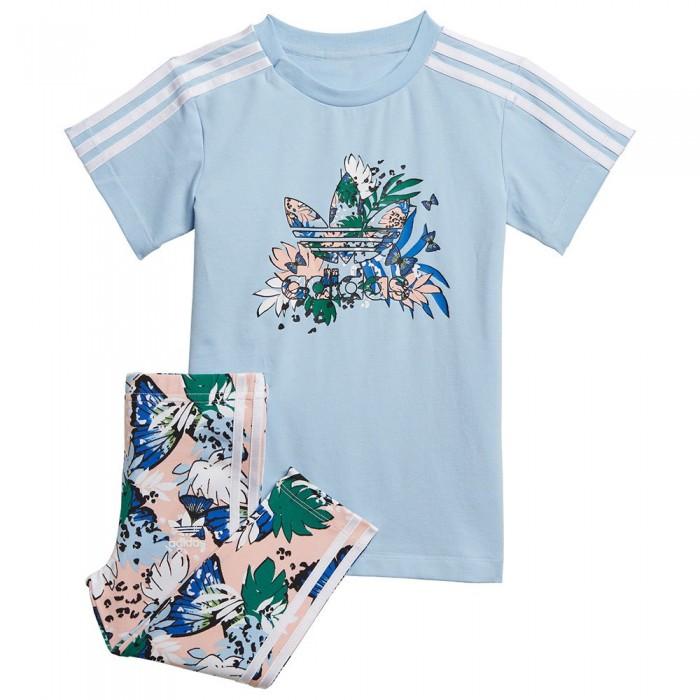 [해외]아디다스 ORIGINALS Track Suit 15138115241 Clear Sky / Haze Coral S17 / Multicolor