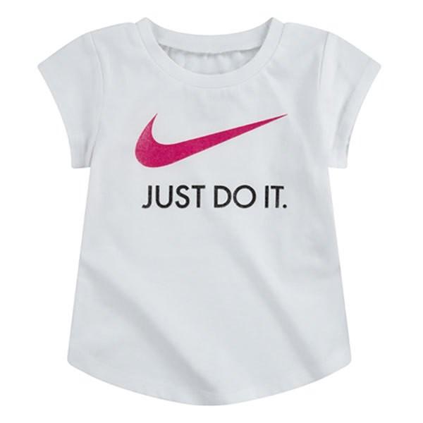 [해외]나이키 Swoosh Lt Just Do It Short Sleeve T-Shirt 15138134499 White