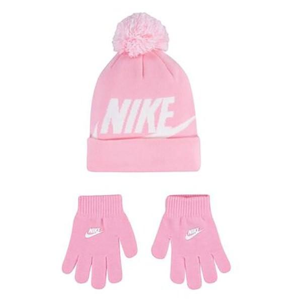[해외]나이키 Swoosh Pom Beanie 15138134531 Pink