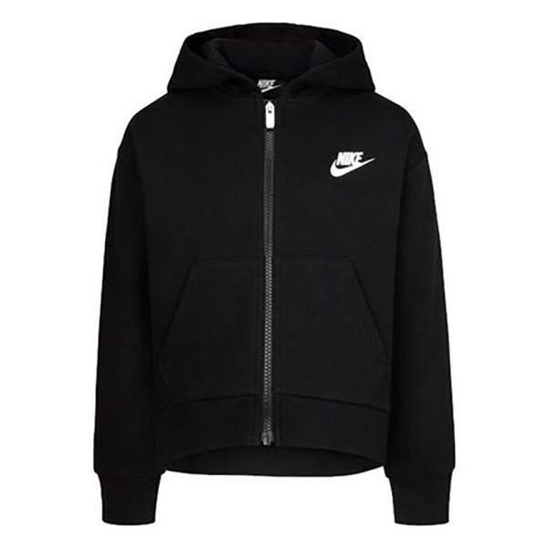 [해외]나이키 Club Fleece High Low Full Zip Sweatshirt 15138134910 Black