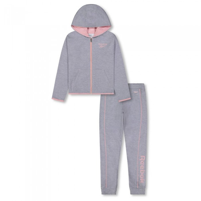 [해외]리복 Color Pop Track Suit Big 15138155507 Light Grey