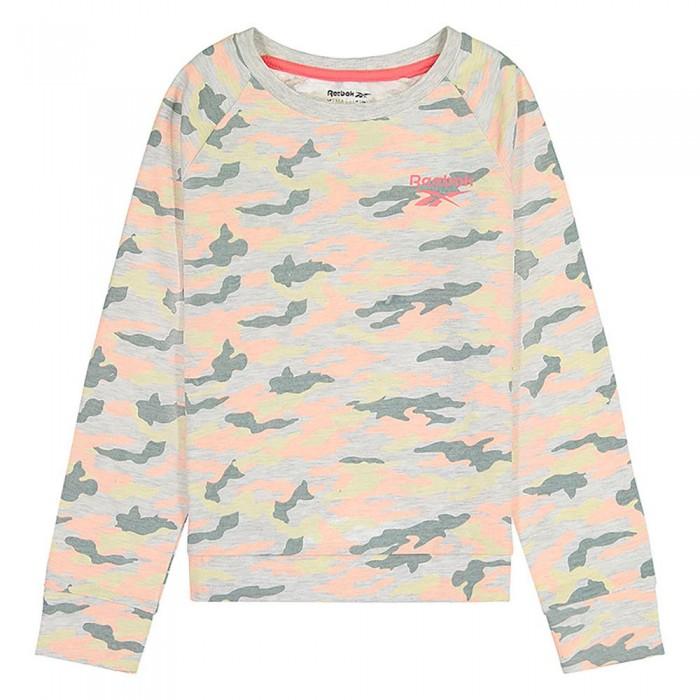 [해외]리복 Surplus BK Long Sleeve T-Shirt 15138155546 Oatmeal Heather