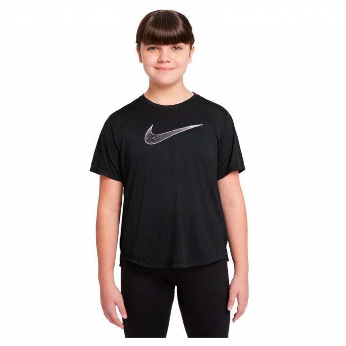 [해외]나이키 Dri Fit One Short Sleeve T-Shirt 15138252007 Black / White
