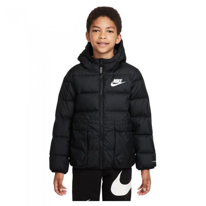 [해외]나이키 Sportswear Down-Fill Jacket 15138254035 Black / Black / White