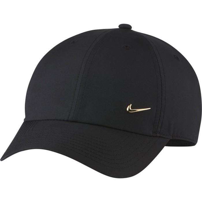 [해외]나이키 Sportswear Heritage 86 Cap 15138297963 Black / Metallic Gold