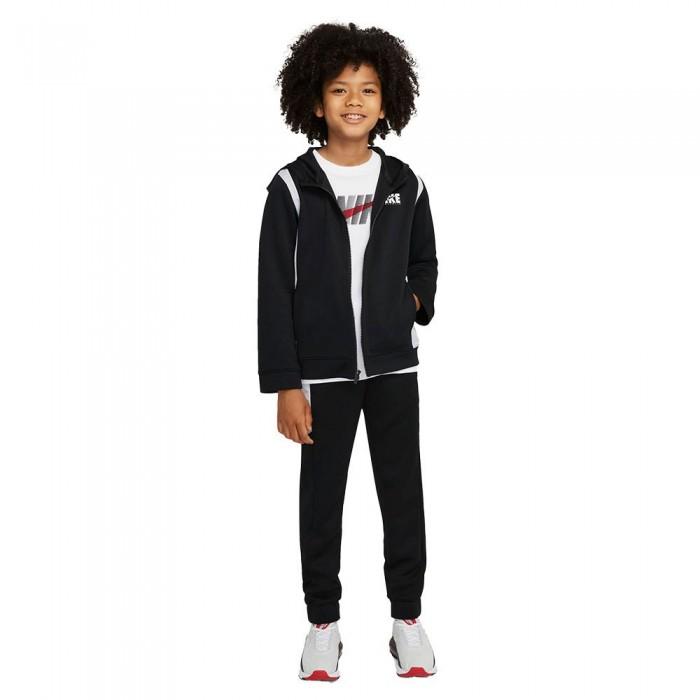 [해외]나이키 Sportswear Track Suit 15138298003 Black / White / White