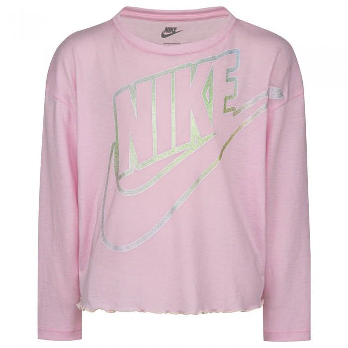 [해외]나이키 Aura Icon Long Sleeve T-Shirt 15138374203 Pink Foam