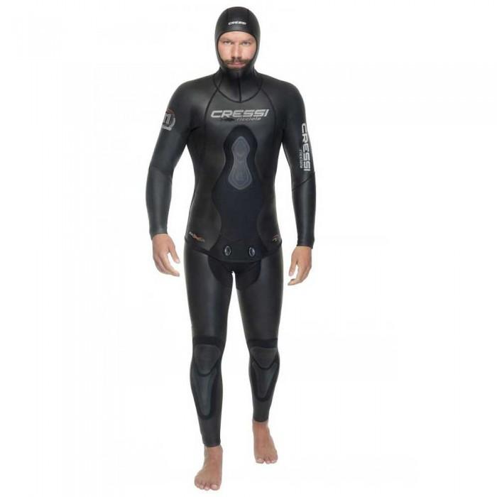 [해외]크레시 Ricciola Spearfishing Suit 5 mm 10138128107 Black