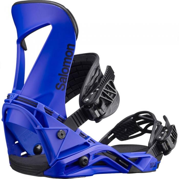 [해외]살로몬 Hologram Snowboard Bindings 5138158035 Blue
