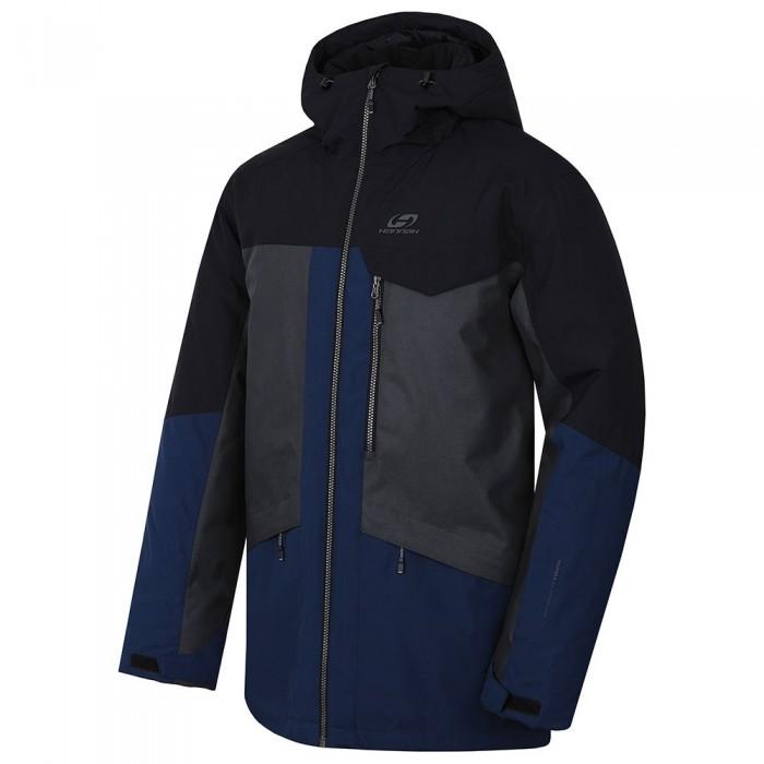 [해외]HANNAH Tiersen Jacket 5138337112 Dark Gray Melange / Dress Blues